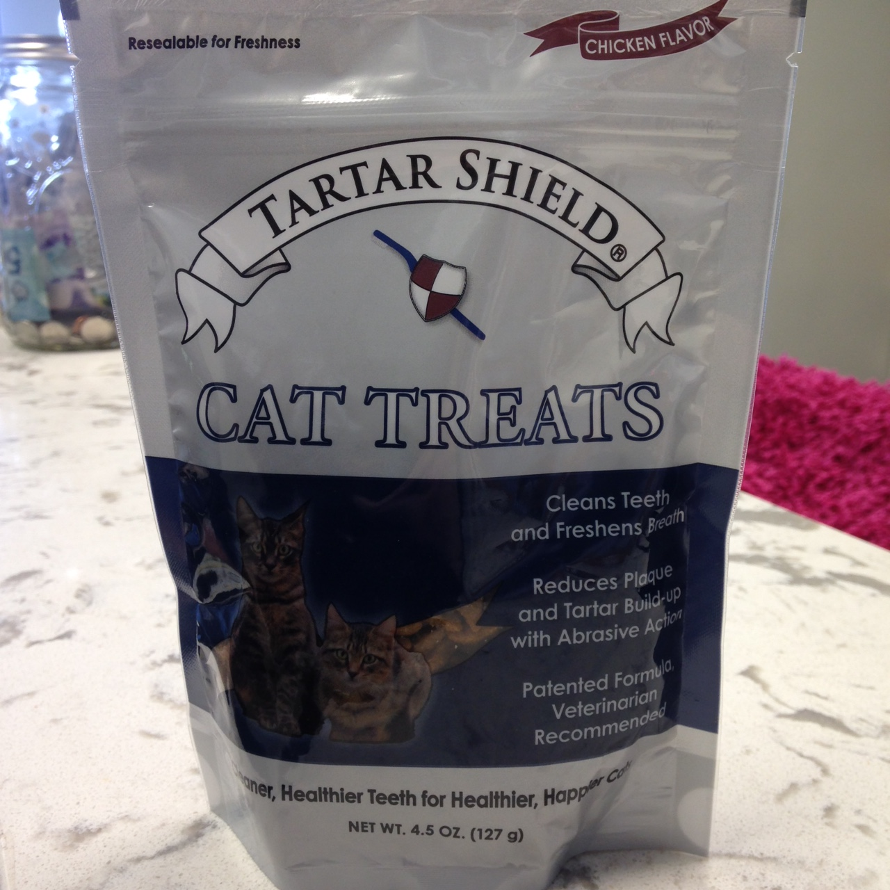Bag of Tartar Shield cat treats
